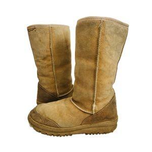 Vintage Ugg Boots Beige Sheepskin Made Australia 8